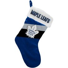 Toronto Maple Leafs NHL 17 inch Color Block Christmas Stocking