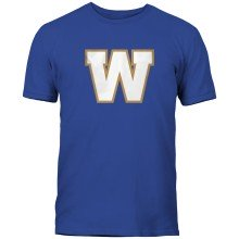 Winnipeg Blue Bombers CFL Basic Logo T-Shirt - Royal