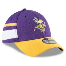 Minnesota Vikings New Era 2018 NFL On Field Home 39THIRTY Cap