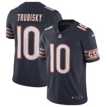 Chicago Bears Mitchell Trubisky NFL Nike Limited Team Jersey - Navy