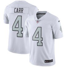 Oakland Raiders Derek Carr NFL Nike Limited Color Rush Team Jersey - White
