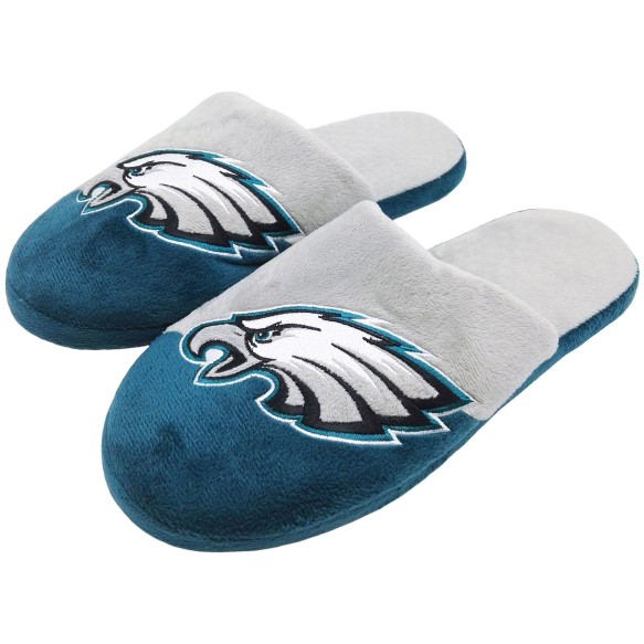 Philadelphia Eagles NFL Men's Big Logo Slipper 2.0