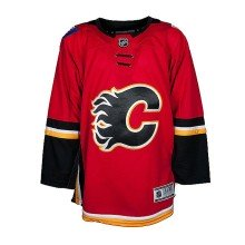 Calgary Flames NHL Premier TODDLER (2-4T) Replica Home Hockey Jersey