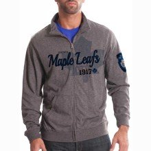 Toronto Maple Leafs Tried And True FX Full Zip Crew (Heather Pepple)