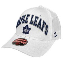 Toronto Maple Leafs Zephyr Sport Arch Cap - White | Adjustable