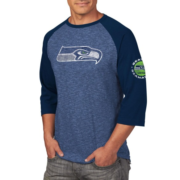 Seattle Seahawks Great Move 3 Quarter Sleeve T-Shirt