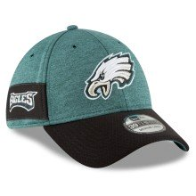 Philadelphia Eagles New Era 2018 NFL On Field Home 39THIRTY Cap (Green)