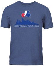 Montreal Expos MLB City View T-Shirt