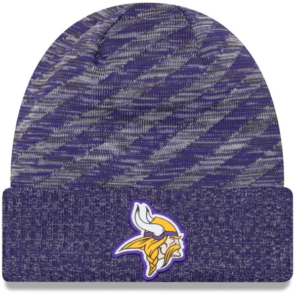 Minnesota Vikings New Era 2018 NFL Official Sideline TD Knit Hat
