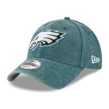 Philadelphia Eagles NFL New Era Rugged Heather Canvas 9TWENTY Cap  | Adjustable
