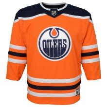 Edmonton Oilers NHL Premier CHILD (4-7) Replica Home Hockey Jersey
