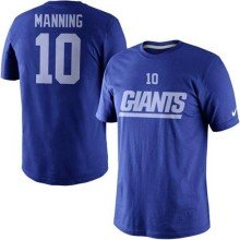 New York Giants Eli Manning NFL Name and Number T-Shirt
