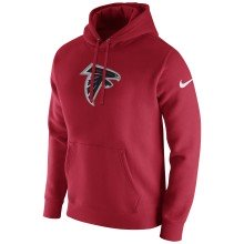 Atlanta Falcons Nike NFL Club Pullover Hoodie - Red