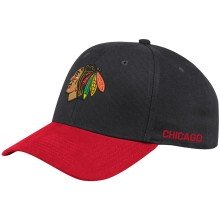 Chicago Blackhawks adidas NHL City 2-Tone Flex Cap