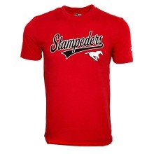 Tri-Blend Stretch Jersey T-Shirt CFL des Stampeders de Calgary