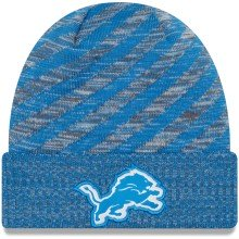 Detroit Lions New Era 2018 NFL Official Sideline TD Knit Hat