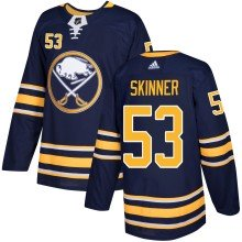 Jeff Skinner Buffalo Sabres - Pro Stitched adidas NHL Authentic Pro Home Jersey - Pro Stitched
