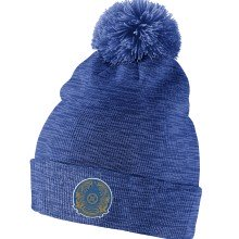 Team Kazakhstan IIHF Cuffed Pom Knit Hat