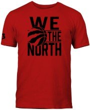 Toronto Raptors NBA We the North Block T-Shirt (Red)