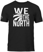 Toronto Raptors NBA We the North Block T-Shirt (Black)