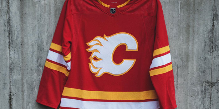 Calgary Flames Alternate Jersey