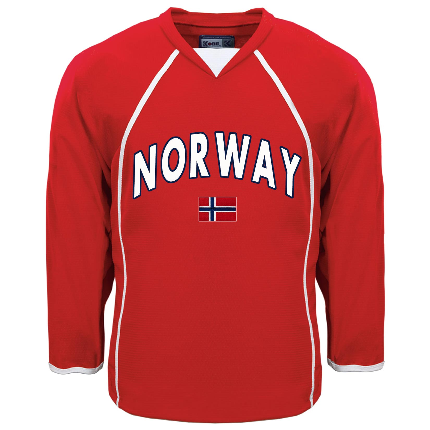 brand new 131eb 4c9db Norway MyCountry Fan Hockey Jersey