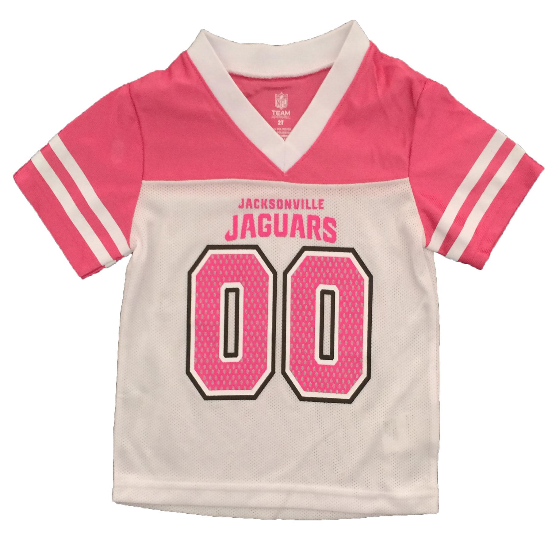 Jacksonville Jaguar Apparel: Jacksonville Jaguars Girls NFL Team Apparel Toddler Fan