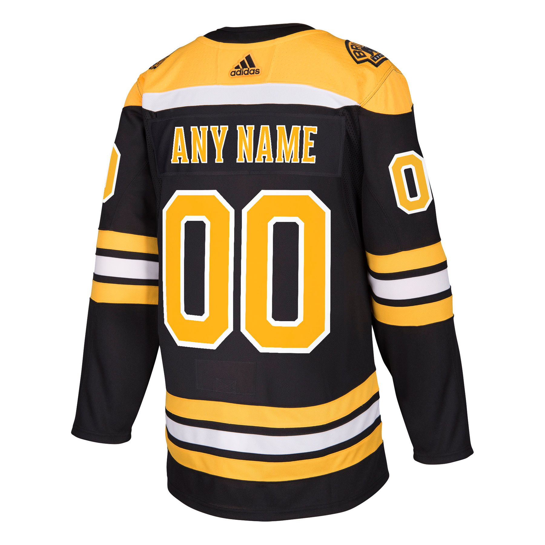 Boston Bruins ANY NAME Adidas NHL Authentic Pro Home