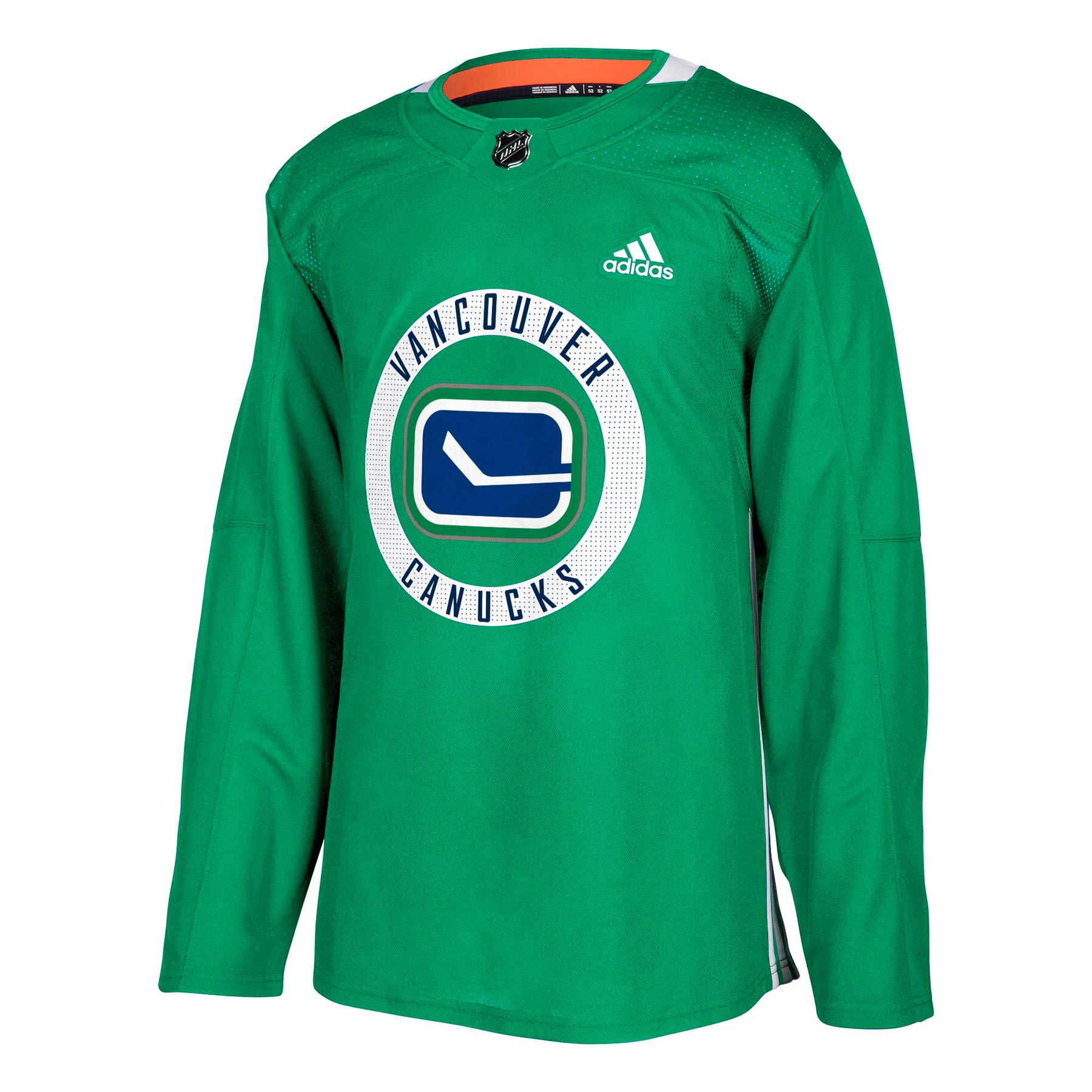 more photos 9e3f9 5292f Vancouver Canucks adidas adizero NHL Authentic Pro Practice Jersey - Green