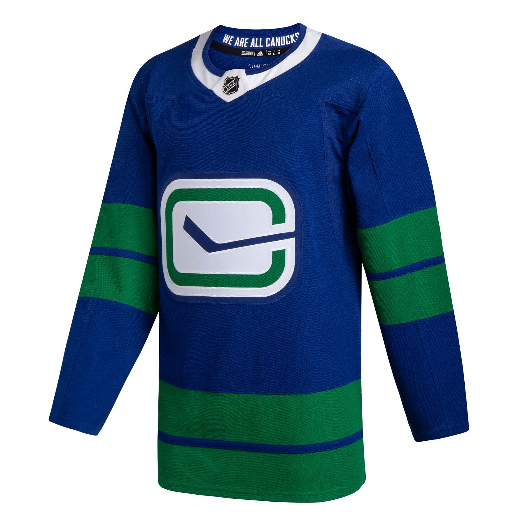 more photos 64c19 7b2e2 Vancouver Canucks adidas adizero NHL Authentic Pro Alternate Jersey