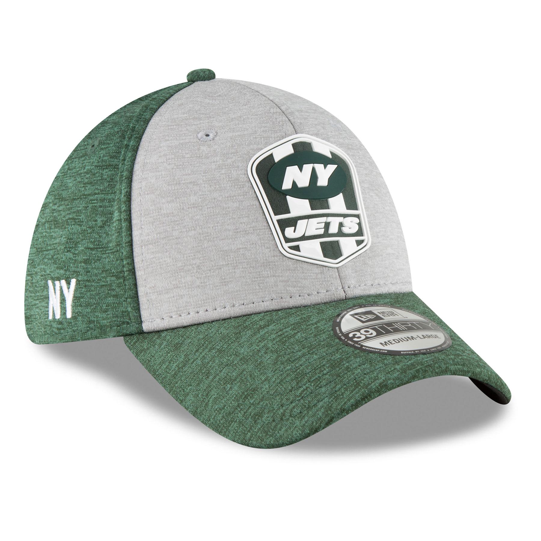 phple2twV New York Jets New Era 2018 NFL On Field Road 39THIRTY Cap - Polyester - Size Medium/L - IceJerseys Hats & Caps NFL Teamware / Logo