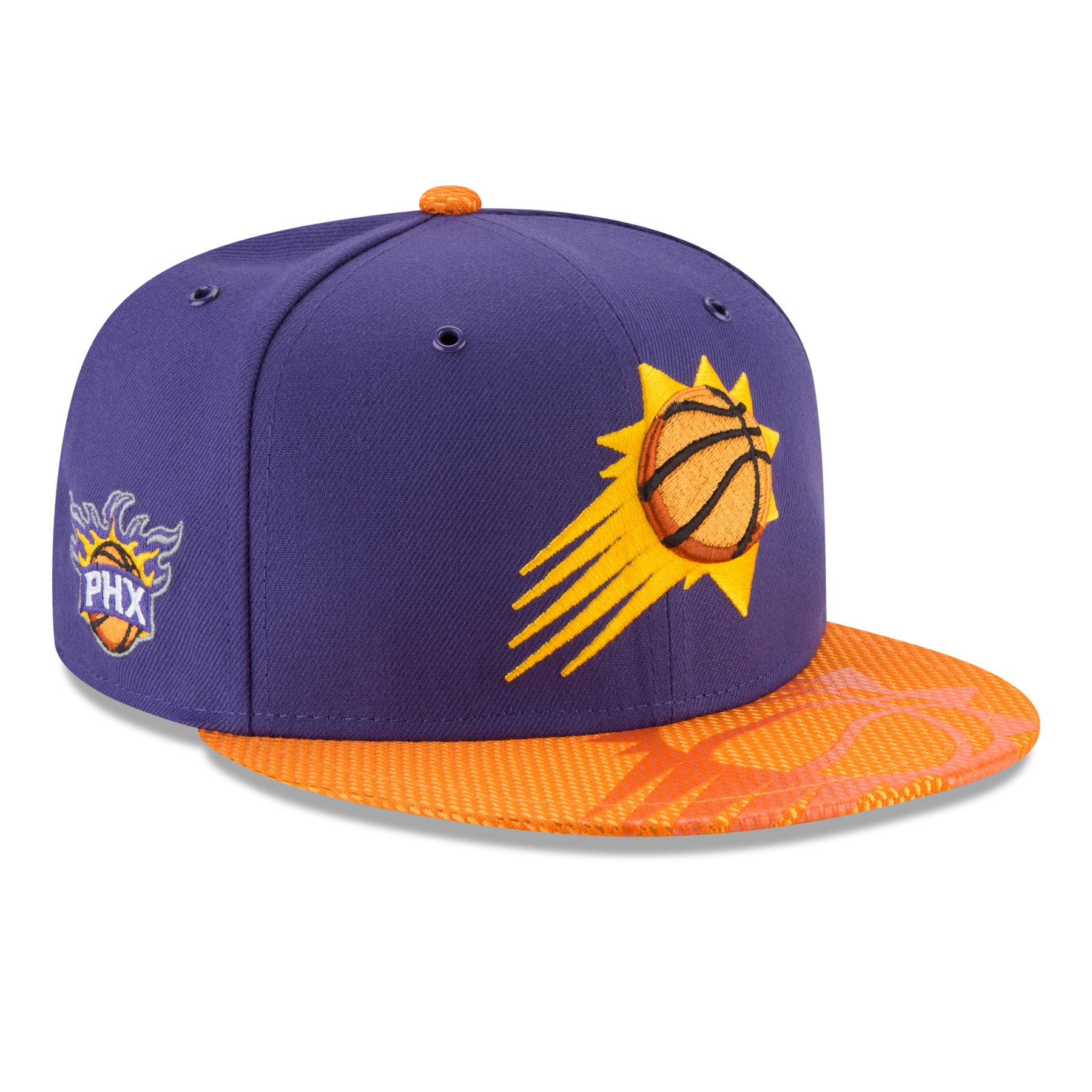 phpuO7WXt Phoenix Suns New Era NBA 2018 On Court All-Star Collection 9FIFTY Snapback Cap / Adjustable - Polyester - IceJerseys Hats & Caps NBA Teamware / Logo
