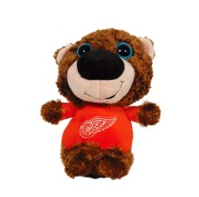 Detroit Red Wings Plush Big Eyed Bear