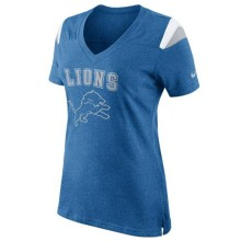 Detroit Lions Women's Fan V-Neck NFL T-Shirt