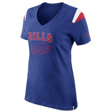 Buffalo Bills Women's Fan V-Neck NFL T-Shirt