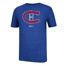 Montreal Canadiens CCM Retro Logo Tri-Blend T-Shirt