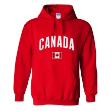 Canada MyCountry Pullover Arch Hoodie (Red)