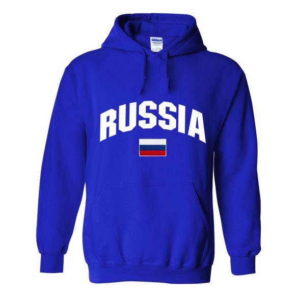 Russia MyCountry Pullover Arch Hoodie (Royal)