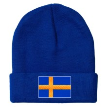 Sweden MyCountry Solid Knit Hat (Royal)