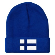 Finland MyCountry Solid Knit Hat (Royal)