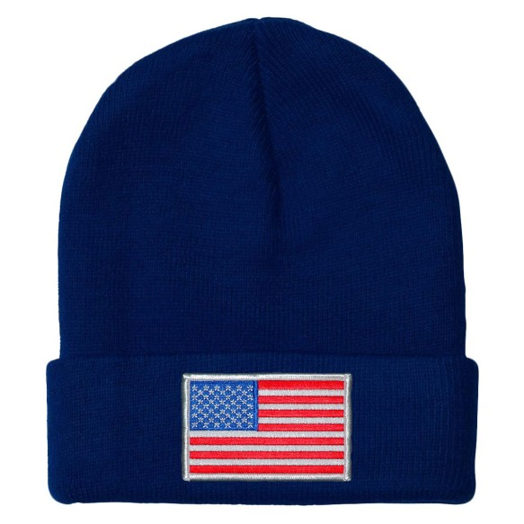 USA MyCountry Solid Knit Hat (Navy)