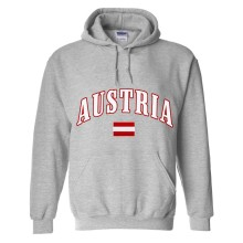 Austria MyCountry Pullover Arch Hoody (Sport Gray)