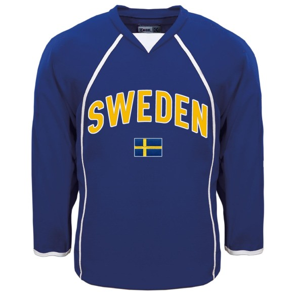 Sweden MyCountry Fan Hockey Jersey (Royal)