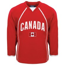 Canada MyCountry Fan Hockey Jersey (Red)