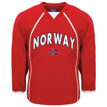 Norway MyCountry Fan Hockey Jersey