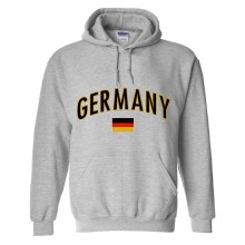 Germany MyCountry Pullover Arch Hoody (Sport Gray)