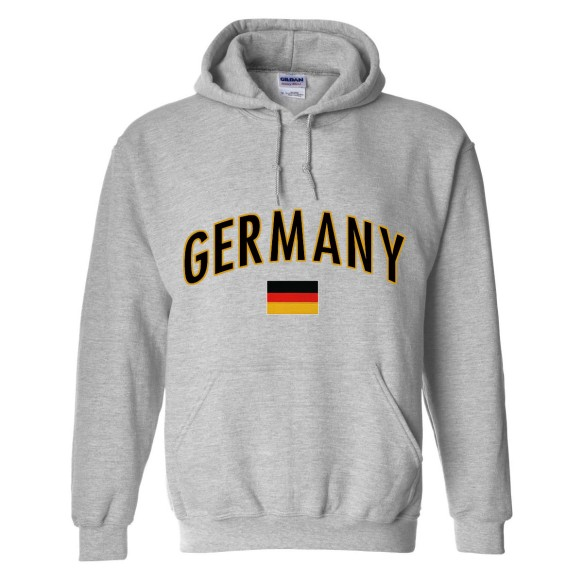 Germany MyCountry Pullover Arch Hoodie (Sport Gray)
