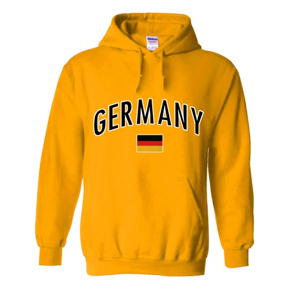 Germany MyCountry Pullover Arch Hoodie (Gold)