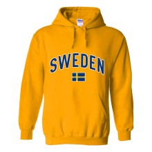 Sweden MyCountry Pullover Arch Hoody (Gold)