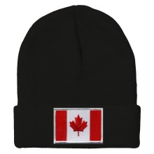 Canada MyCountry Solid Knit Hat (Black)